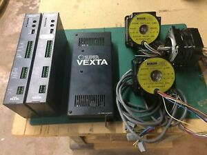Stepper Motors And Drive Amp For Cnc 3d Printer Vexta Berger Lahr 3 axis