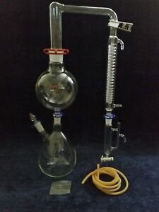new 2000ml Chemistry Distillation Kit With Hot Plate And Pump