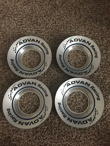 Advan Center Cap Plate Jdm Work Ssr Blitz Weds Enkei Oz Bbs Volk