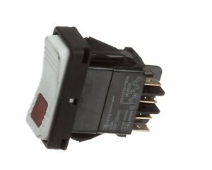 Pitco 60158201 Rocker Switch Dpdt With Light 1 0 1