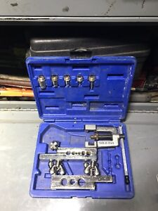 Ritchie Yellow Jacket 60440 Swaging And 45 Flaring Tool Kit Unused