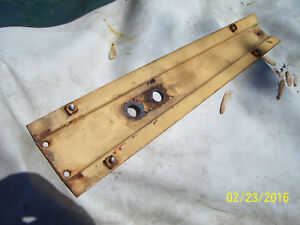 Vintage Ji Case 830 Row Crop Tractor grille Center Strip 1960