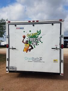 Celebrity Owned Mobile Whole Body cryotherapy Trailer Turn key Business