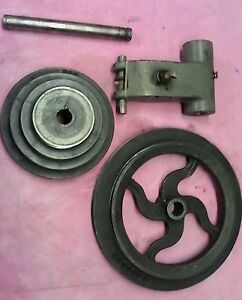 Original Craftsman Atlas 10 12 Lathe Countershaft 2 4 Step Spindle Pulleys Late