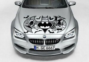 Tribal Batman Logo Design Decal Vinyl Graphic Hood Car Truck