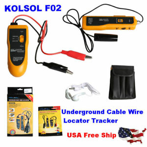 Usa Shipping Kolsol F02 Locating tracking Hidden Cable Wires Lan Locator Tracker
