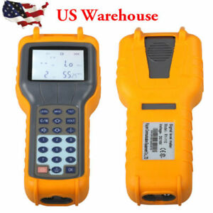 Us Shipping Rys110 Catv Cable Tv Digital Signal Level Meter Db Tester Brand New