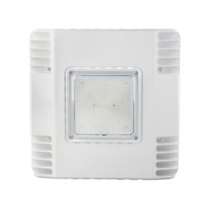 150w Gas Station Led Canopy Light 5700k 400w Mh hps Equiv Surface Mount Fixtures