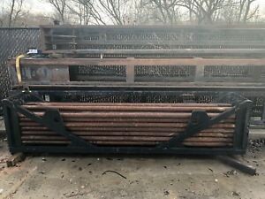 Used Rod Basket With 37 Drill Pipes d33x44 10ft Fsii