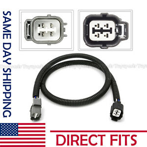 O2 02 Oxygen Sensor Extension Harness 4 Wire Cable Kit For Honda Up Downstream