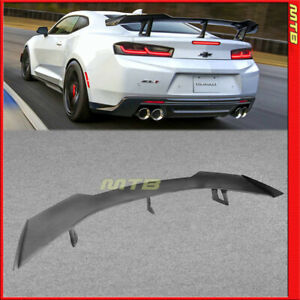 Eos For 2016 2018 Camaro Zl1 1le Style Abs Plastic Rear Trunk Lid Spoiler Wing