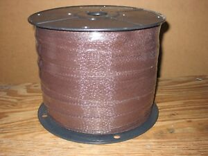 1 1 2 X 660 Regular Duty Electric Fence Polytape Brown