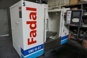 Fadal Vmc 15xt Cnc Vertical Machining Center 30 x 16 X 20 4th Axis Ready