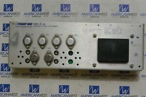 He15 9 a Power One Power Supply 15 Vdc 9 Amp He159a