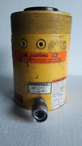 Enerpac Rch 603 Hydraulic Hollow Cylinder Jack 60 Tons 3 Stroke free Shipping