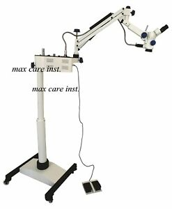 Operating Microscope 3 Step Magnification With Motorized Foot Focusing