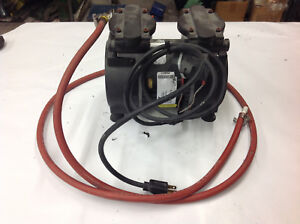 Gast 72r547 v251 d303x Twin Piston Vacuum Pump 115v 1ph Used Working Pump