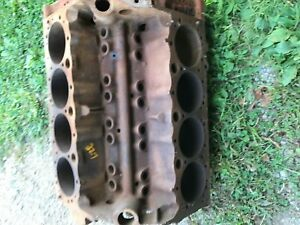 1963 Chevy 327 Engine Flint Block 3782870 March 1963 040 Stamped F0327s Pitted