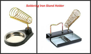 Soldering Iron Stand Holder Support Station With Metal Base Detachable Generic