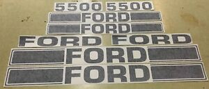 Ford 5500 Tractor Loader Decals