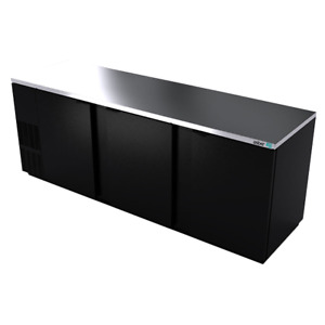 Asber Abbc 94 Back Bar Cabinet Refrigerated