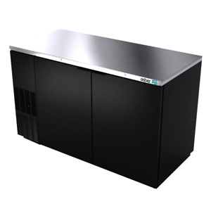 Asber Abbc 58 Back Bar Cabinet Refrigerated