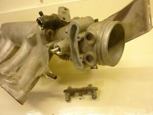 Saab 9000 Turbo Throttle Body And Intake Manifold B234