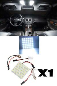 White Led Center Dome Map Interior Light Bulb 36smd Panel Hid Xenon Lamp Qty 1