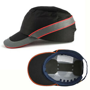 Safety Bump Cap Helmet Hard Hat Work Construction Impact Baseball Protective Abs