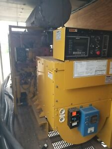 Caterpillar 3412 750kw Trailer Mounted Standby Generator 1109hp Only 117 Hours