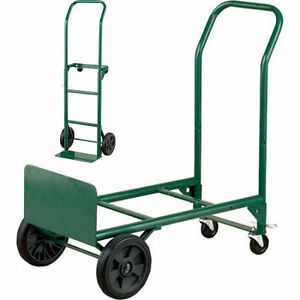 Dolly And Cart Convertible Folding Truck Utility Moving Luggage Trolley 400 Lbs