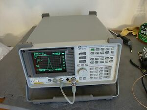 Hp Agilent 8593e Spectrum Analyzer W Various Options 9 Khz 26 Ghz Pick Opts