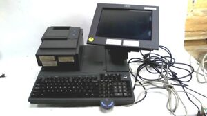 Ncr Point Of Sale Pos System Ibm W monitor Keyboard Thermal Printer 4800 742