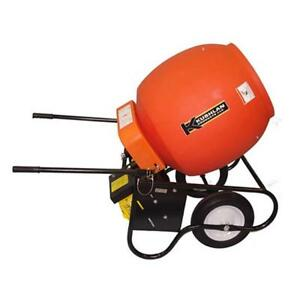 Kushlan Products 600gas 6 Cf Gas Engine Cement Mixer Assembled