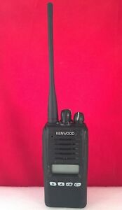Kenwood Nx 320 K2 400 470mhz Nexedge Uhf Radio With Charger