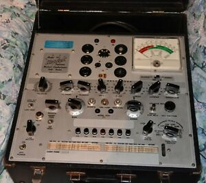 Hickok 750 Mutual Conductance Tube Tester