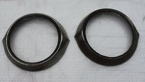 1953 Chevrolet Bel air 210 150 Coupe 1 Pair Of Headlight Bezels nice Patina