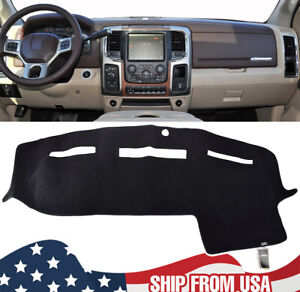 Dashboard Dash Mat Dashmat Anti Sun Cover For Dodge Ram 1500 2500 3500 2010 2018