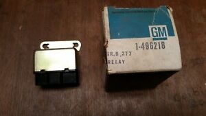 Nos Gm 1971 77 Buick Olds Chevy Wagon Power Tailgate Relay 496218