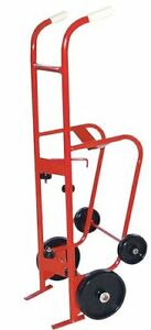 Milwaukee 40774 4 Wheel Drum Dolly hand Truck 55 Gallon Cart New