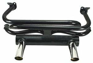 Empi 3417 Vw 2 Tip Gt Exhaust System For Air cooled Vw Bug Ghia 1 3 8 Tubing