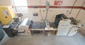 2009 Kompac Kwik Finish 20 Uv Coater With Feeder Stacker