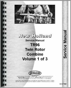 New Holland Tr96 Twin Rotor Combine Service Manual