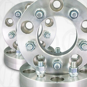 Set Of Four 5 Lug 4 75 To 5 X 4 5 Wheel Adapters Spacers 1 25