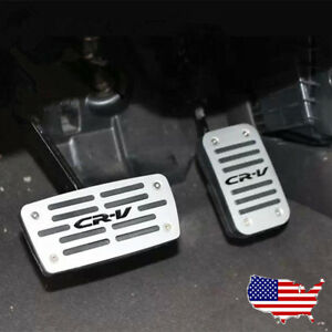Us Foot Pedals Kit Car Fuel Brake Cover Accelerator Non Slip For At Honda Cr V