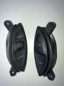 95 01 Ford Explorer Ranger Cruise Control Switches Soft Rubber See Pics