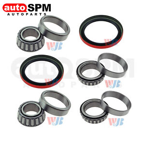 Fit Chevrolet S10 Gmc Sonoma Front Wheel Bearing Race Seal Kit