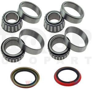 Fit Chevrolet S10 2wd Front Wheel Bearings Seal Kit 1982 2003
