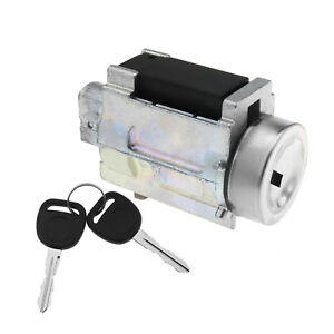 Ignition Lock Cylinder Tumbler With Key With Lock Sensor Chevy Classic Impala