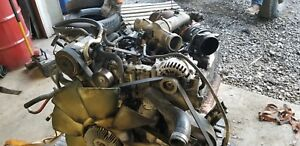 2002 Ford 7 3 Powerstroke Diesel Engine Complete Runs Great Ford F250 F350